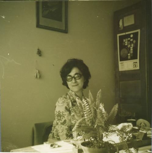 Dunja Rihtman-Šotrić u Institutu, 1971.