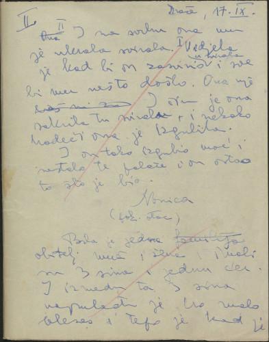 Folklorna građa s Pelješca i Neretve, 1956. Terenska bilježnica br. 2