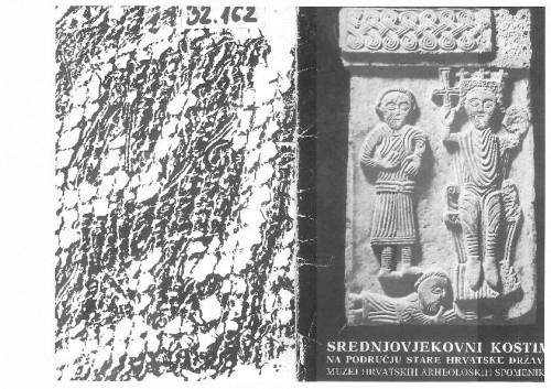 Srednjovjekovni kostim na području stare Hrvatske države (predgovor kataloga izložbe)