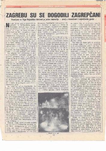 Nova godina 1989. - Zagrebu su se dogodili Zagrepčani