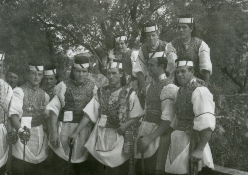 Kumpanija u Blatu na Korčuli, 1960.