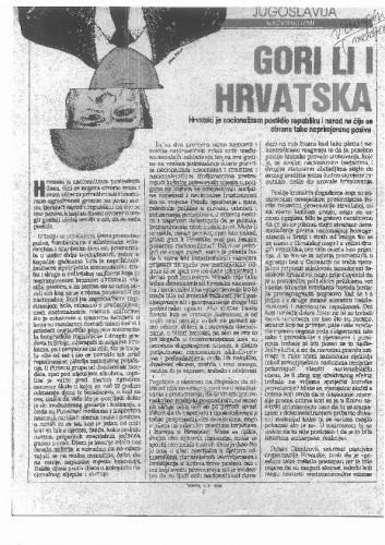 Nacionalizmi - Gori li i Hrvatska