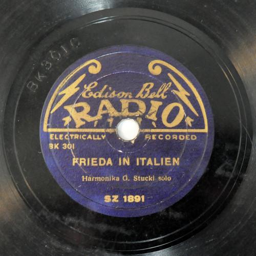 Frieda in Italien