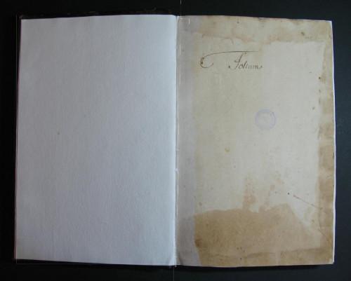 Našički Cantual iz 1737.g. Fotokopija.
