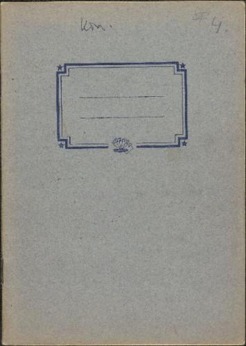 Folklorna građa iz Konavala 2, 1961. Terenska bilježnica br. 4.