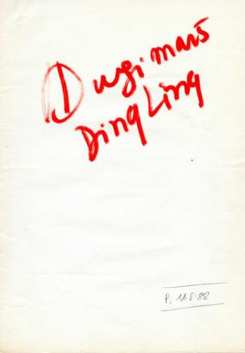 Dugi marš života Ding Ling