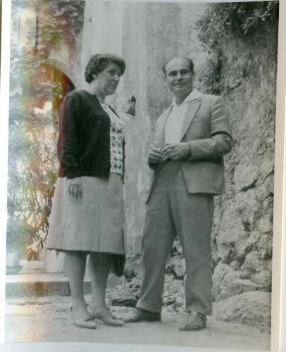 Maja Bošković-Stulli i Viktor Gusev (Kongres SUFJ u Novom Vinodolskom).
