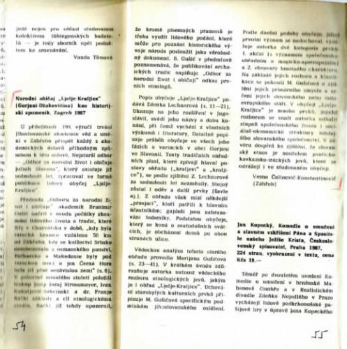 """Narodni običaj """"Ljelje-Kraljice"""" (Gorjani, Džakovština) kao historijski spomenik, Zagreb, 1967"""