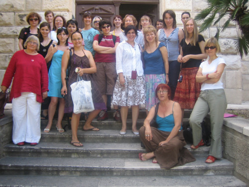 Feminisms in a Transnational Perspective 2008: Voicing Feminist Concerns. Sudionice seminara