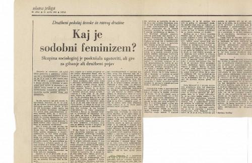 Kaj je sodobni feminizem?
