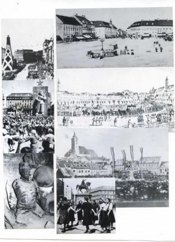 Fotografije i ilustracije Trga kroz povijest
