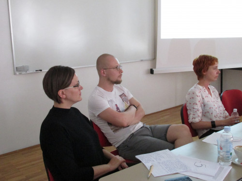 Feminisms in a Transnational Perspective 2018: Fear, Resistance, Imagination. Nadia Jones-Gailani, Dmitri Dorogov i Jana Kujundžić