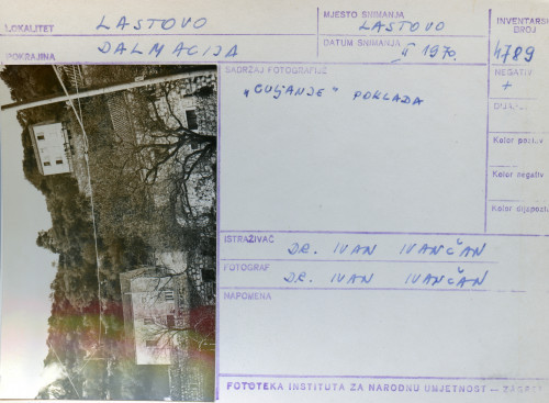 Plesni običaji otoka Lastova, 1970.
