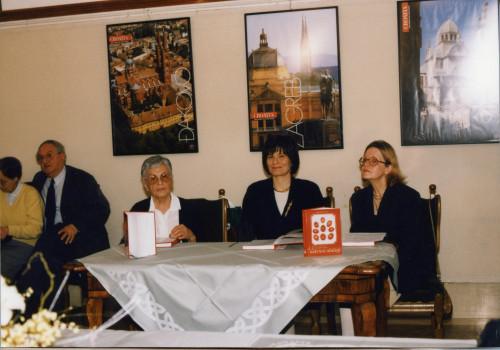 Proslava 50. obljetnice IEF-a.  Predstavljanje knjige dr.sc. Jasne Čapo Žmegač