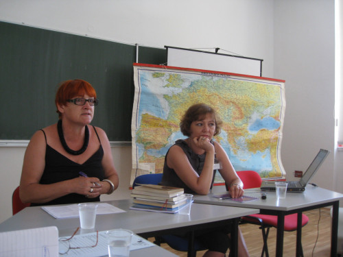 Feminisms in a Transnational Perspective 2009: Spirituality, Religiosity and Secular Lives: Feminist Challenges for Theory and Practice.  Rada Borić i Iva Grgić