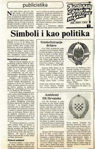 Simboli i kao politika