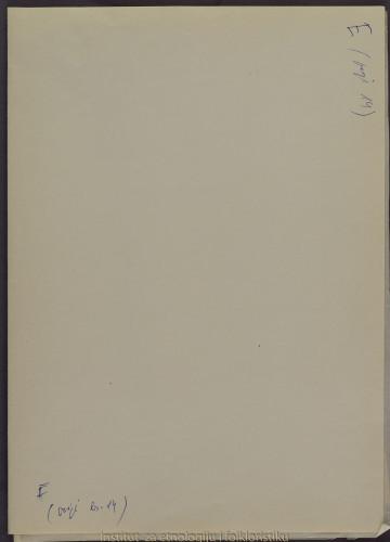 Crteži konavoskih svrdonica (frula) prema fotografijama; Svrdonice su vlasništvo obitelji Hajmut, 1953.