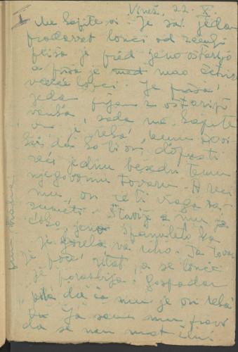 Folklorna građa okolice Labina, 1952. Terenska bilježnica br. 1.